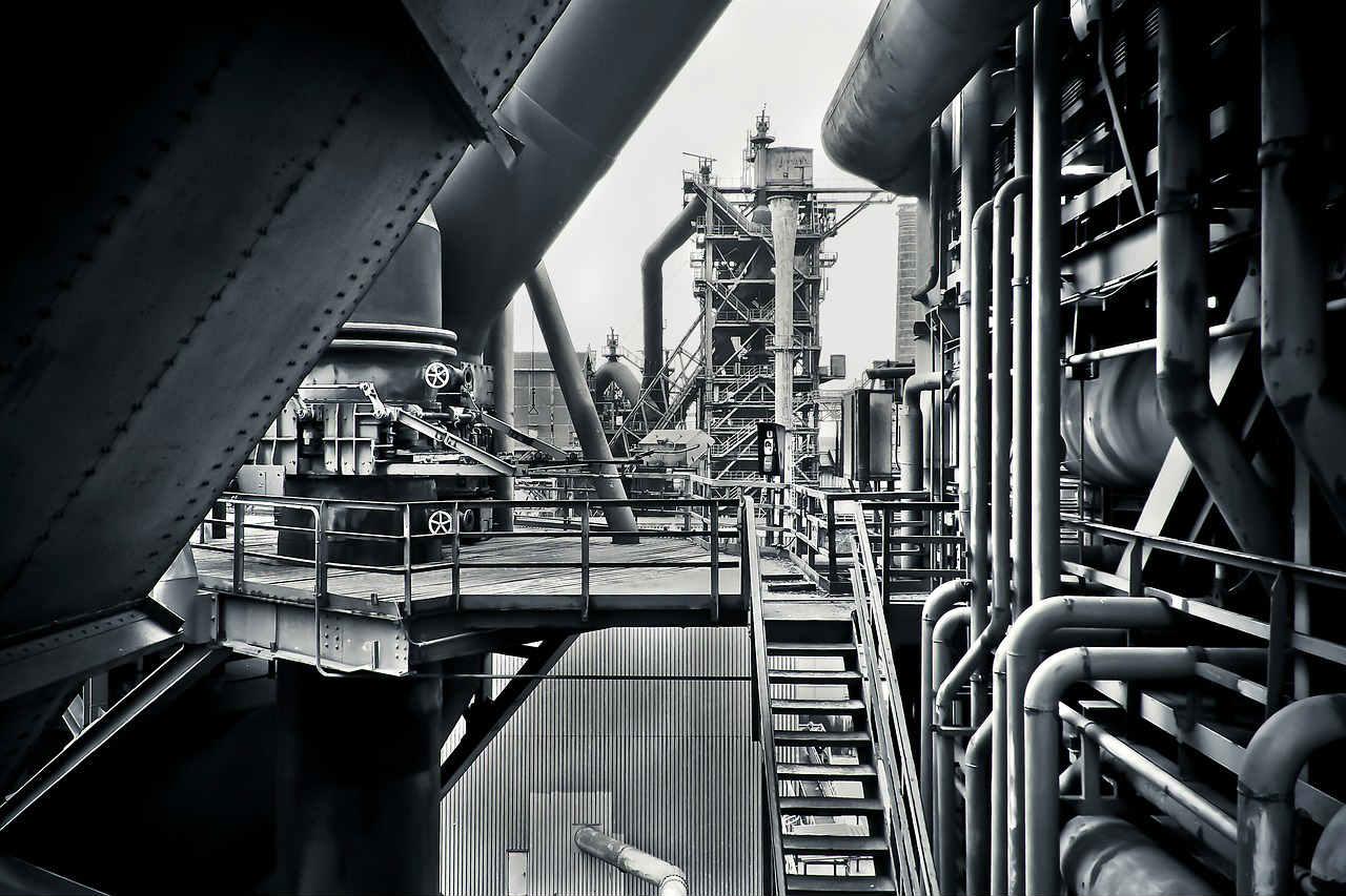 Kraty pomostowe do fabryk